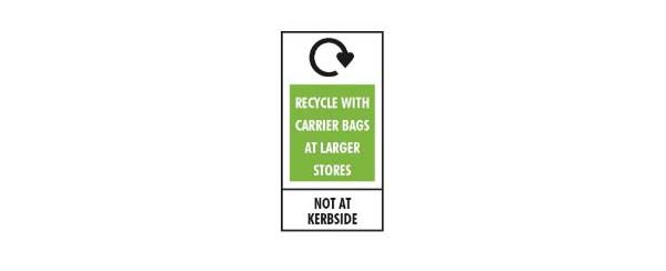 recycle with carrier bags