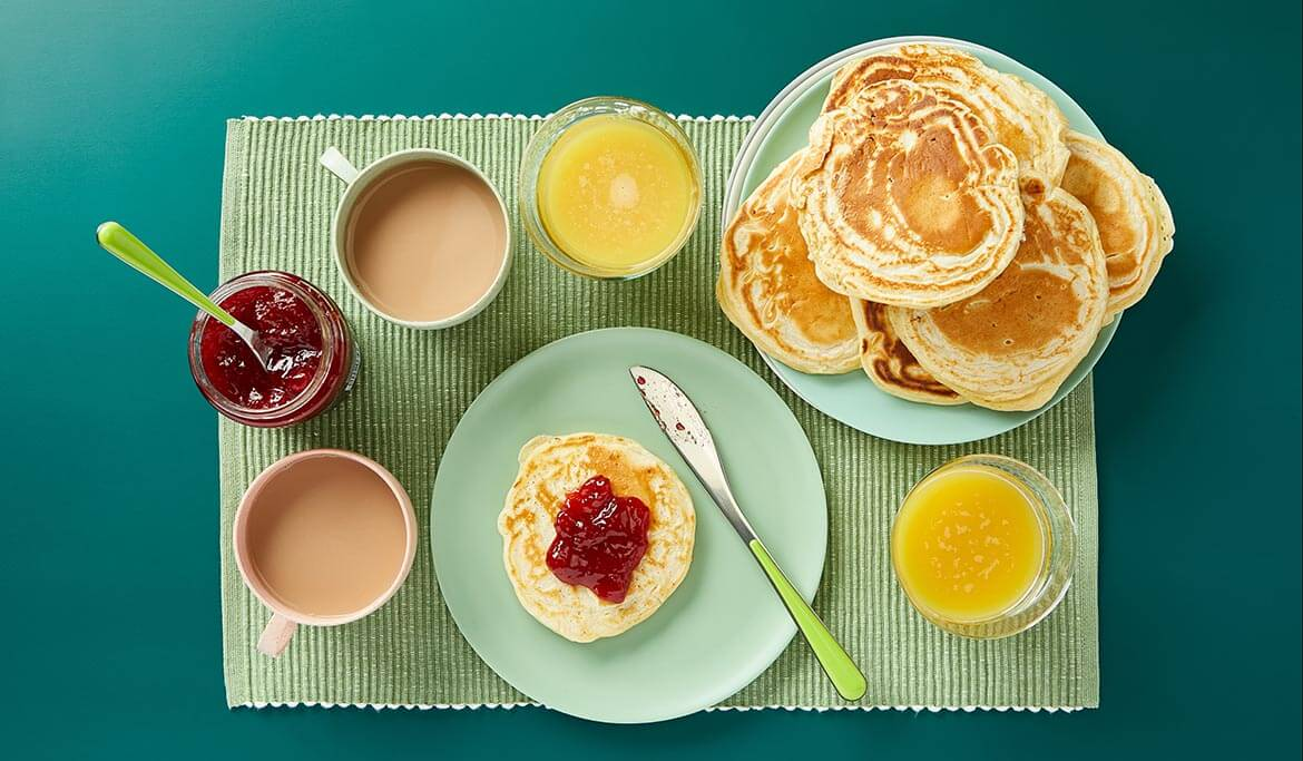 Pancakes - great taste no waste